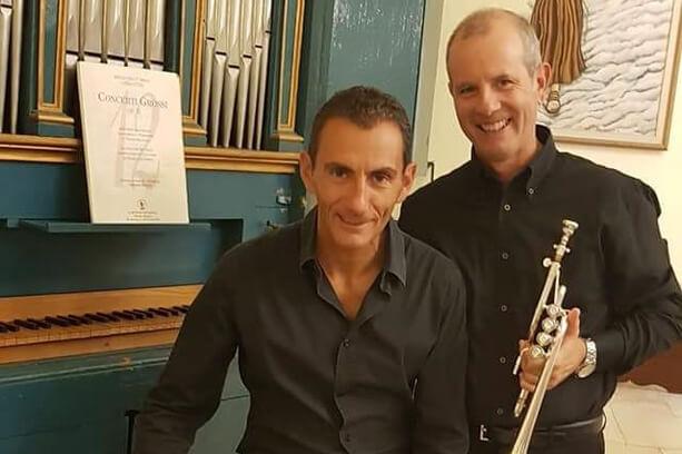 Organo e tromba, il duo Spanu Mura in concerto ai Mercoledì Musicali