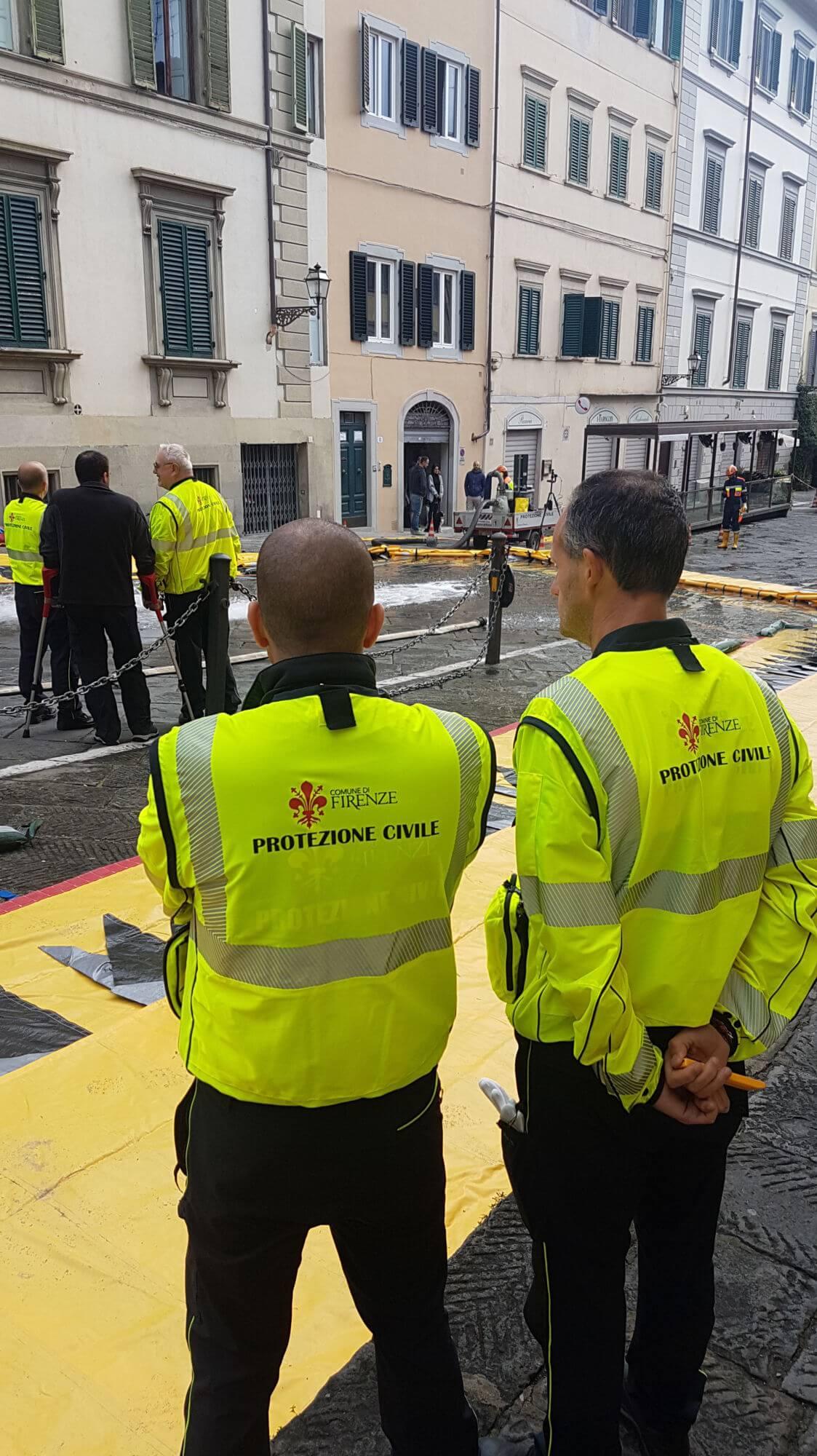 La giornata della Protezione Civile a Firenze
