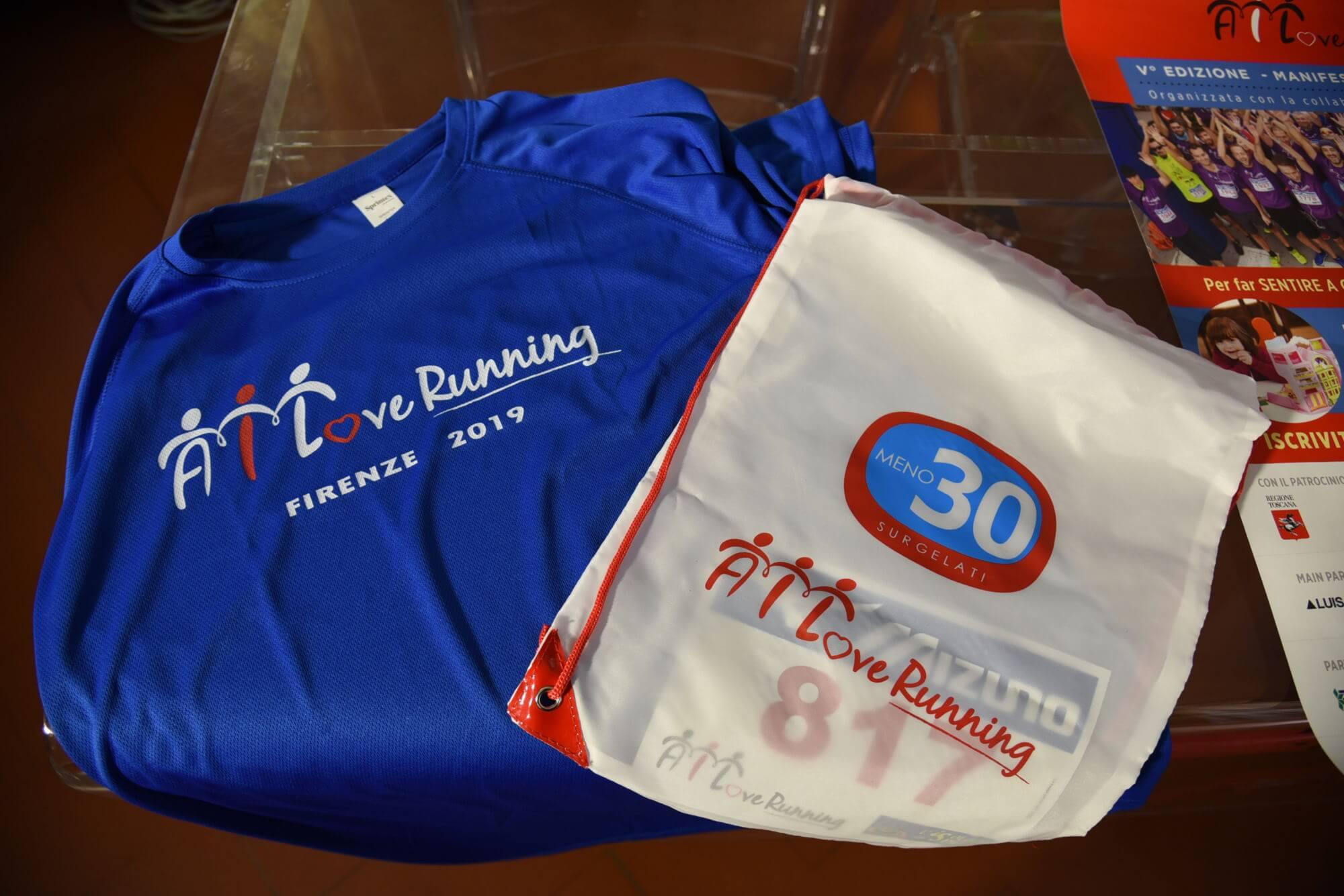 Firenze: AILoveRUNNING, domenica 3 novembre di corsa per battere la leucemia