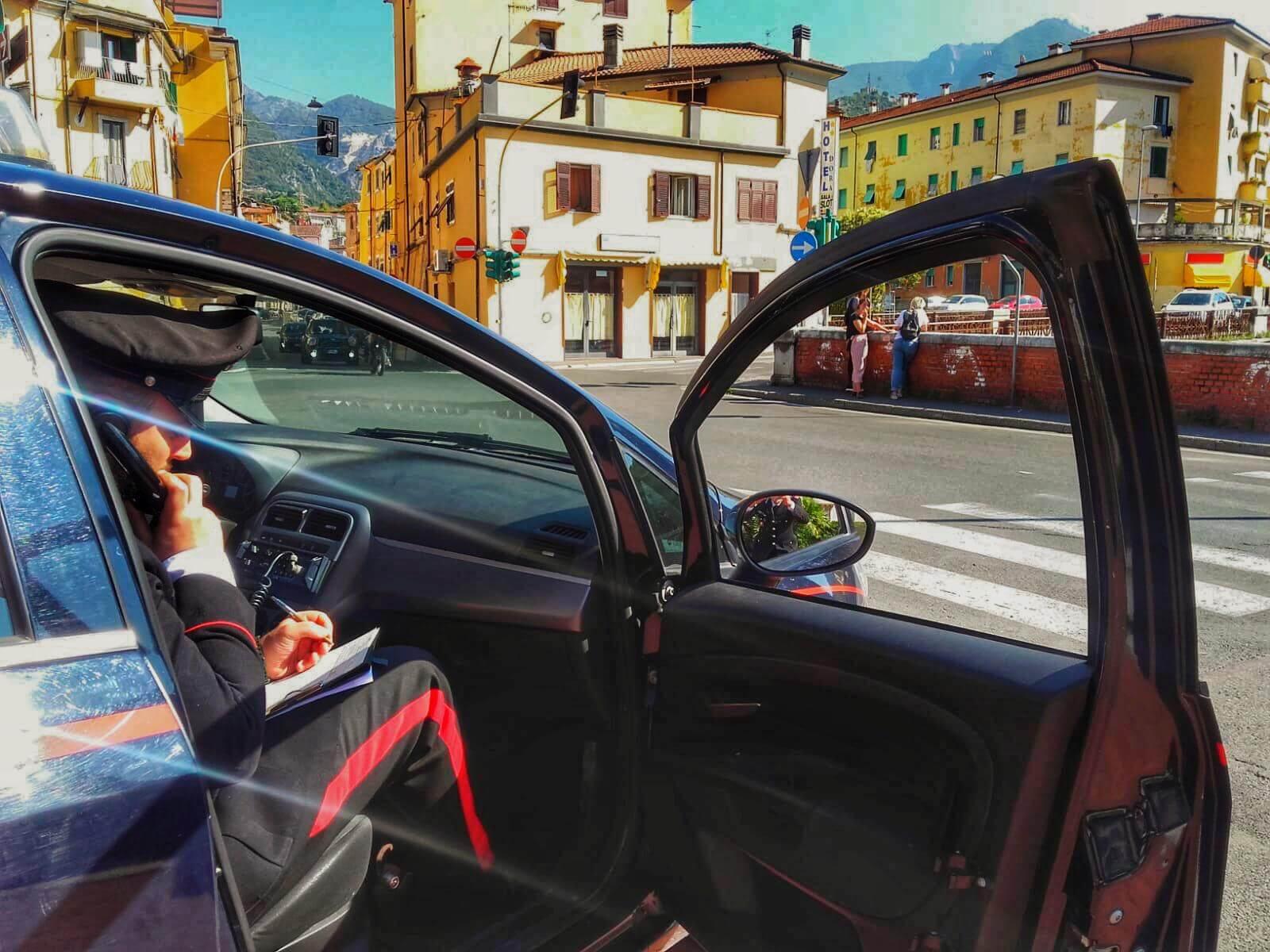 Continua il giro di vite dei Carabinieri di Carrara contro i fenomeni di criminalità e per la sicurezza dei cittadini