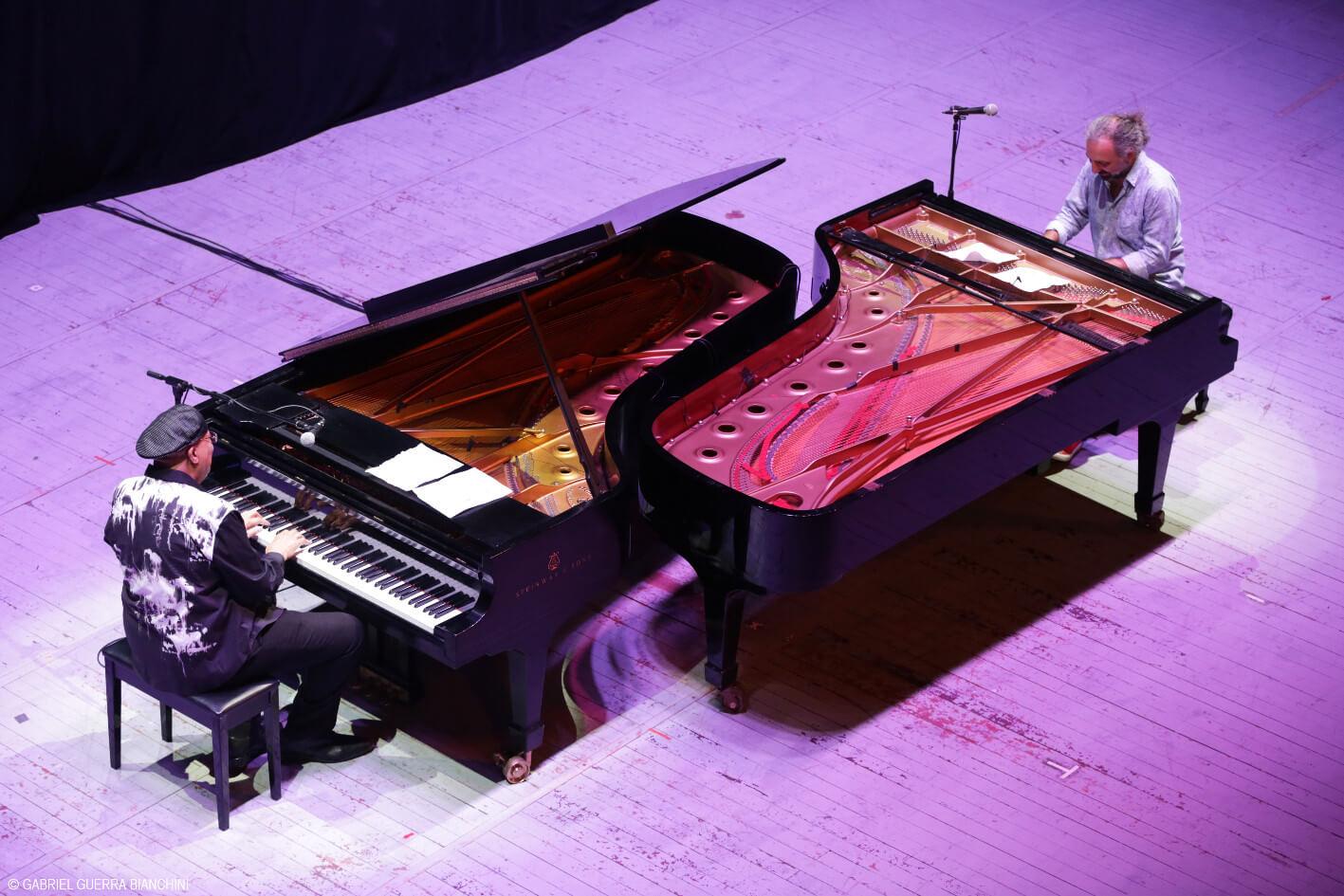 Stefano Bollani e Chucho Valdés, i fuoriclasse del pianoforte in concerto al Teatro  Verdi di Firenze
