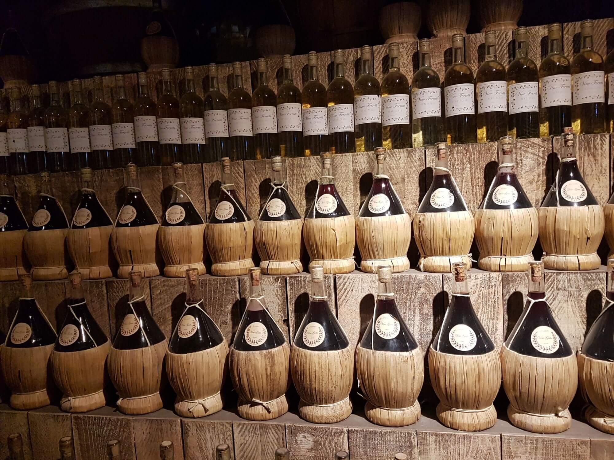 Vino, boom di vendite per il Chianti