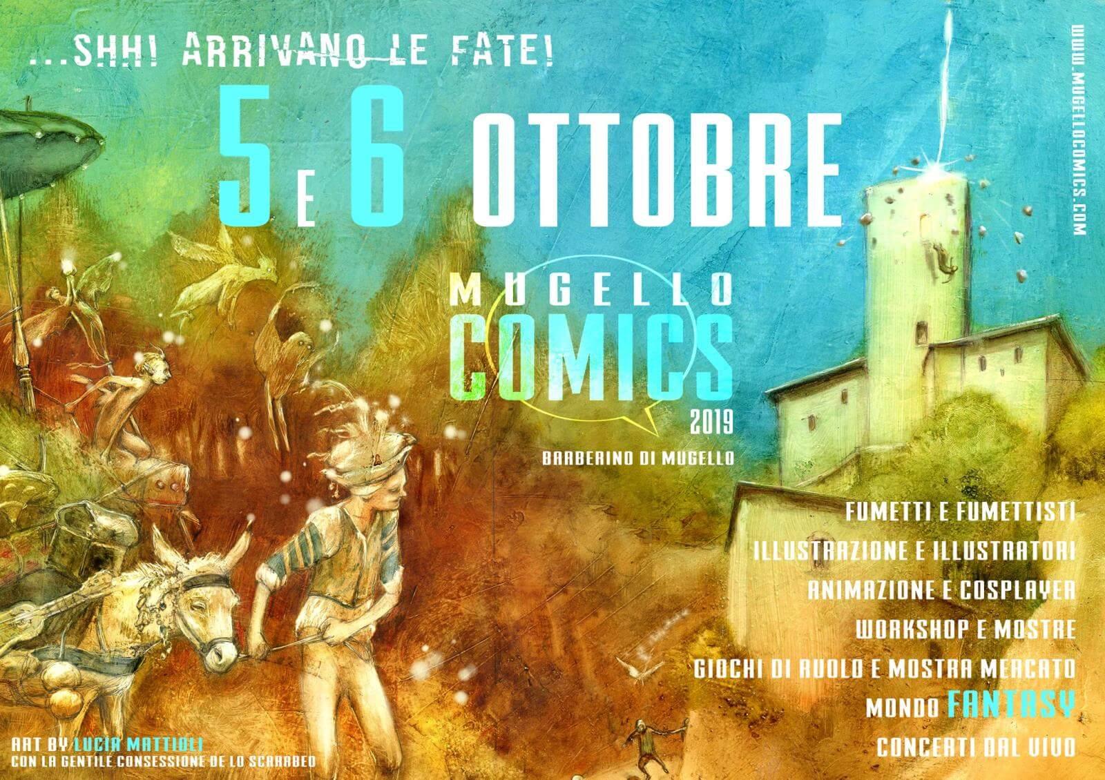 Mugello comics 2019 – Arrivano le Fate