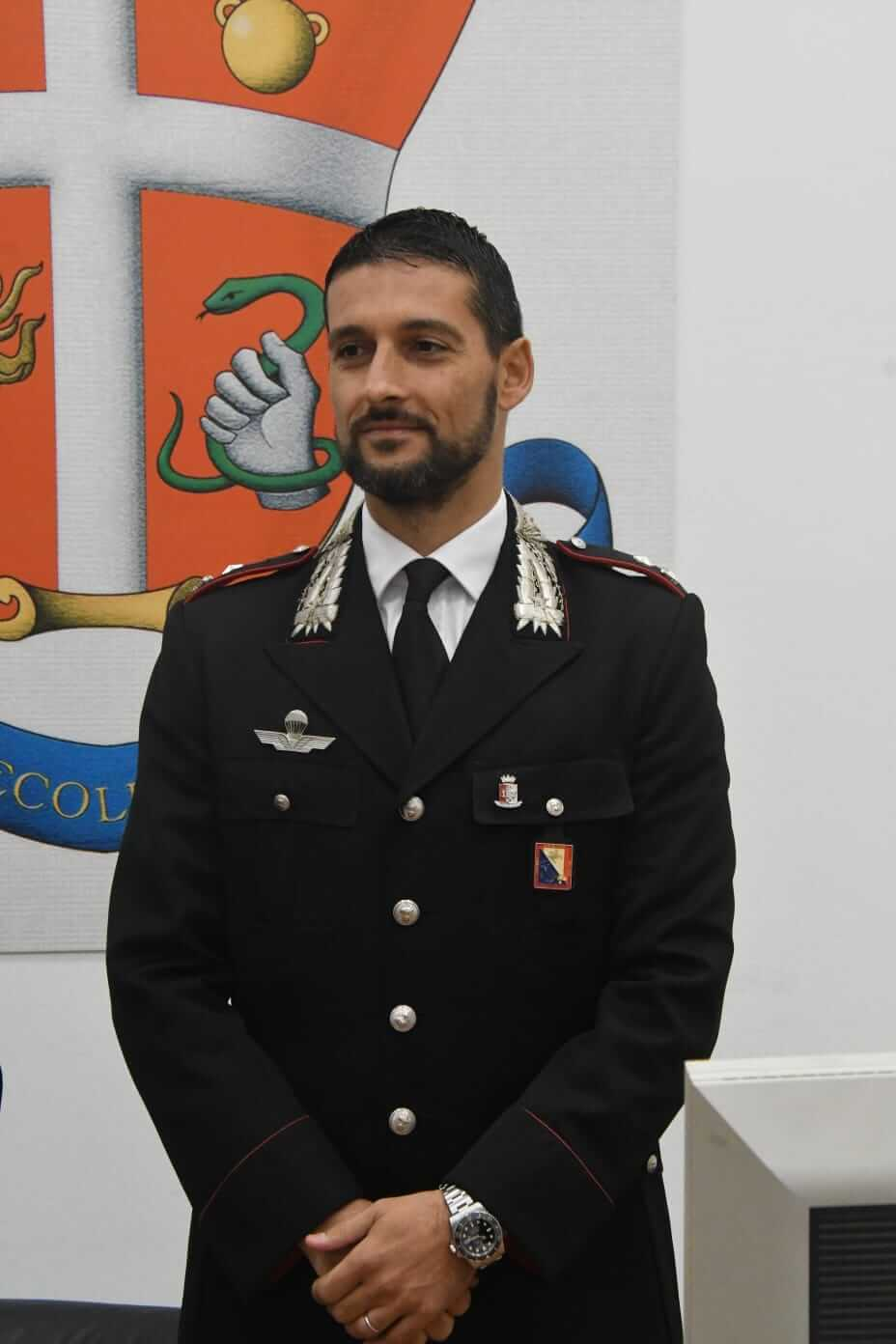 Il maggiore Giodi Liguanti è il nuovo comandante del nucleo investigativo dei Carabinieri di Massa