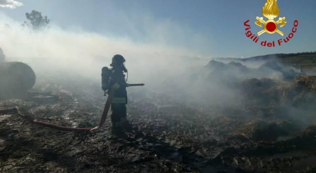 Incendi, rogo in località Monte Giuvigiana in Mugello
