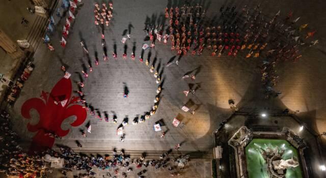 Toscana da 200 piedi di altezza: mostra a Forte belvedere