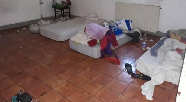 Pisa, sgomberato un immobile di due piani occupato abusivamente a Cisanello