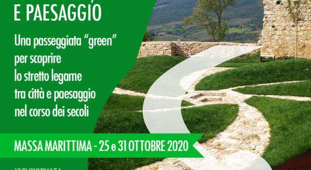 """Trekking Urbano, 25 e 31 ottobre. A Massa Marittima due passeggiate""""green"""" tra città e paesaggio"""