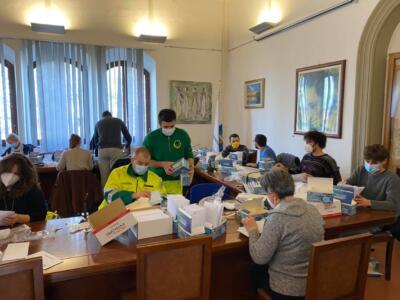 40mila mascherine in consegna agli over 70 di Barberino Tavarnelle