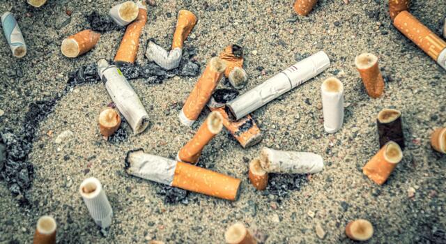 Mozziconi di sigarette diventano risorse, il progetto a Capannori