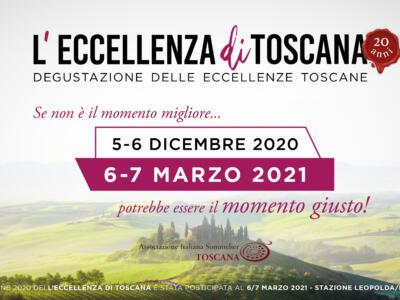 Vino, 'Eccellenza di Toscana' slitta a marzo