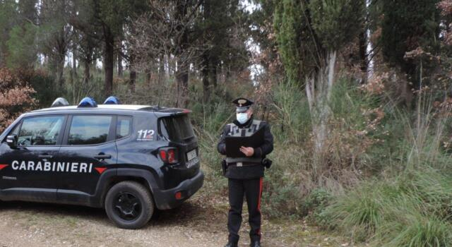 Scappa al controllo: inseguito e sanzionato dai Carabinieri