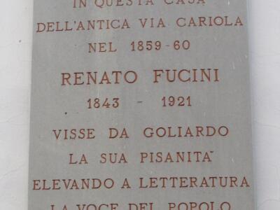 Cultura: Giani e Mazzeo, il Capodanno Pisano dedicato a Renato Fucini