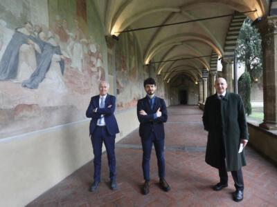 Nuova luce per le lunette del Chiostro Grande di Santa Maria Novella