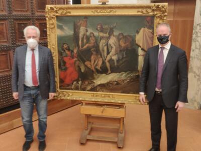 Diretta dalla Galleria Degli Uffizi per il quadro perduto e ora ritrovato