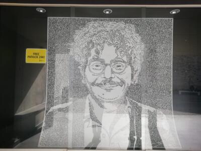 Patrick Zaki, in Biblioteca Lazzerini l'installazione dedicata al giovane studente egiziano