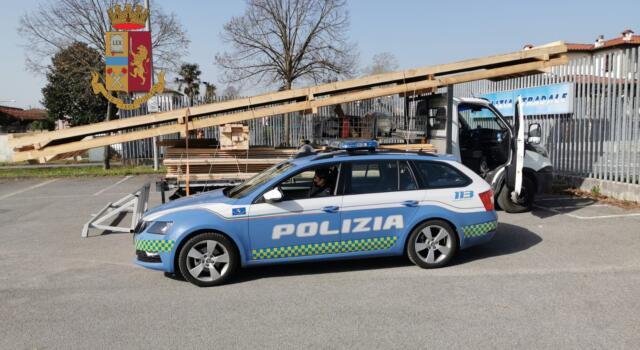 Trasporto eccezionale non autorizzato, multa da 800 euro