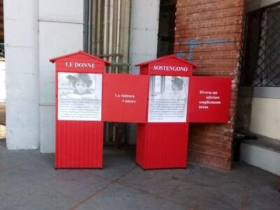 Scritte contro donne su installazione in memoria di Rosa Parks