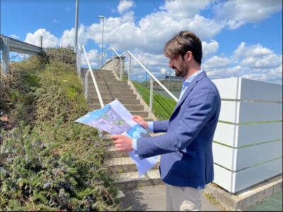 Nuova rampa ponte via Dei Bocchi, migliorata l'accessibilità