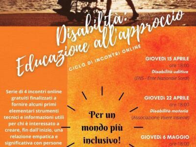 Relazioni con le persone disabili. Ciclo di incontri online al Quartiere 3