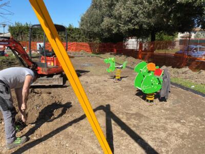 A Capannori al via i lavori nel parco di Lunata