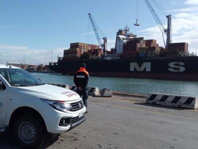 Mancano i requisiti di sicurezza: fermato in porto cargo di 300 metri