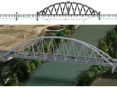 Nuovo ponte fra Montelupo e Capraia