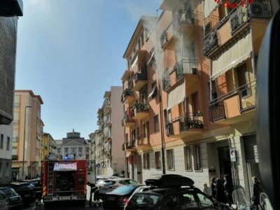 Incendio in appartamento, ignote le cause