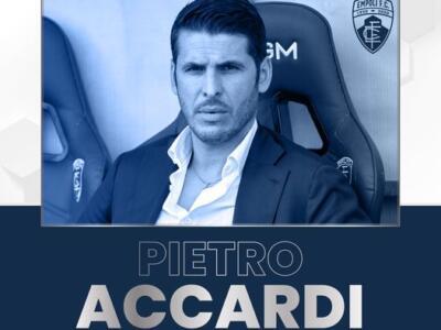 Empoli FC, prolungato il contratto del direttore sportivo Pietro Accardi fino al 30 giugno 2024