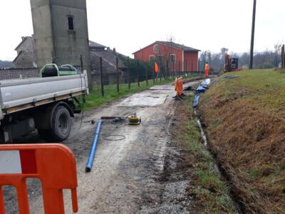 Partiti i lavori acquedotto a Lappato