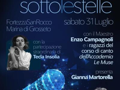 Sottolestelle: lo spettacolo a Marina di Grossetto con il Maestro Enzo Campagnoli e i ragazzi de Le Muse