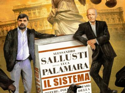 Sallusti e Palamara presentano Il sistema a Villa Bertelli