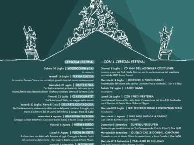 XXI° edizione del Certosa Festival