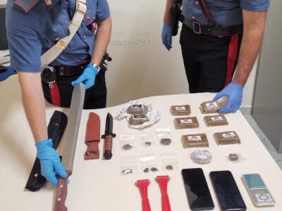 Operazione antidroga dei carabinieri, un arresto
