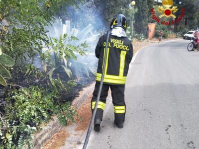 Incendio a Campo nell'Elba, Vigili del Fuoco hanno estinto le fiamme