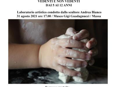 Massa: Al Guagagnucci un laboratorio artistico per bambini vedenti e non