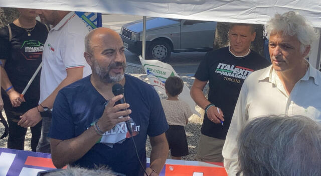 Paragone a Sesto Fiorentino per sostenere il canditato sindaco di Italexit