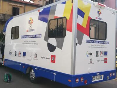Vaccini in piazza, il camper della Asl Toscana sud est farà tappa a Roccastrada e Ribolla