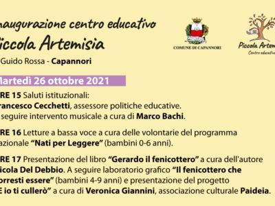 """Capannori, inaugurazione centro educativo """"Piccola Artemisia"""" dedicato alle famiglie"""