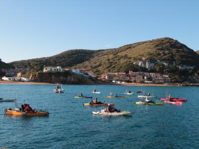 """Isola del Giglio protagonista con il primo trofeo nazionale di """"Kayak fishing"""""""