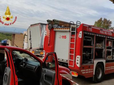 Elisoccorso per un incidente in azienda a Quarrata
