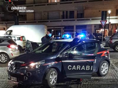 Settimana di controlli dei Carabinieri di Carrara, il resoconto